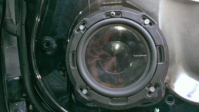 2007 Honda Accord Coupe LX Front Door Speaker Installation - USA