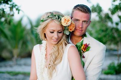Beth + Tyler KONA WEDDING