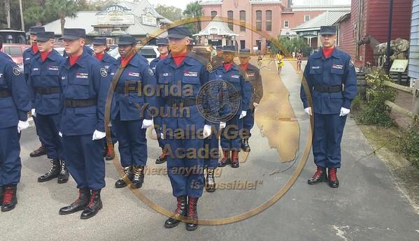 Drill Team Easter Parade