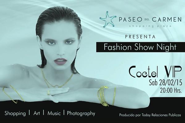 Paseo del Carmen Fashion Show Night