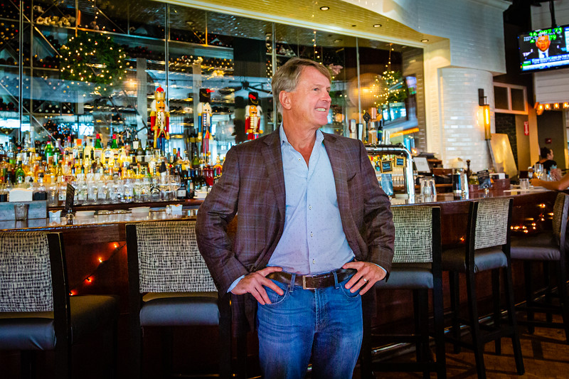 Big Time Restaurant Group partner Todd Herbst at City Cellar on Friday, December 6, 2019. City Cellar is turning 20 years old. [JOSEPH FORZANO/palmbeachpost.com]
