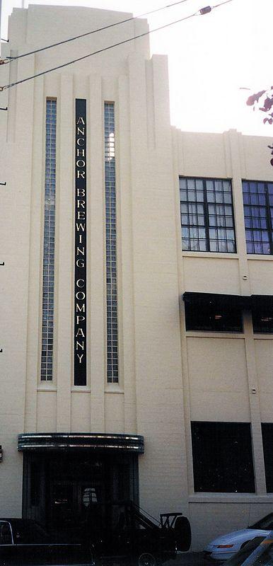 Entrance to Anchor Brewing Company