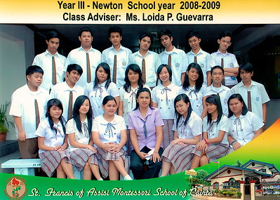 Class Photos SY 2008-2009