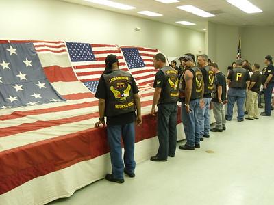 911 National Flag Closing Ceremony
