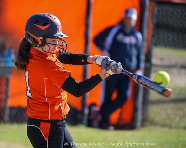 Varsity Softball vs Woodson 4/8/17