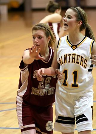 SNHS Girls Basketball vs Pioneer - Sectional 2008