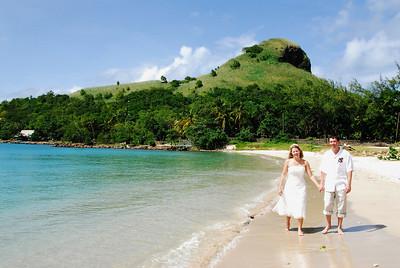 Shelia & Jeff (St. Lucia)