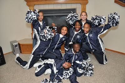 Cowboys Cheerleaders 3rd & 5th grade Dec 2008