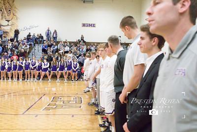 Varsity Boys Basketball vs. Giles County