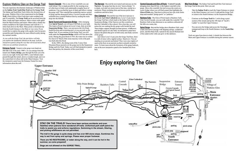 Watkins Glen State Park (Gorge Trail Guide)