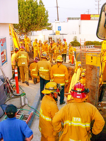 Crenshaw Command (Trench Rescue ; LACo USAR assist)