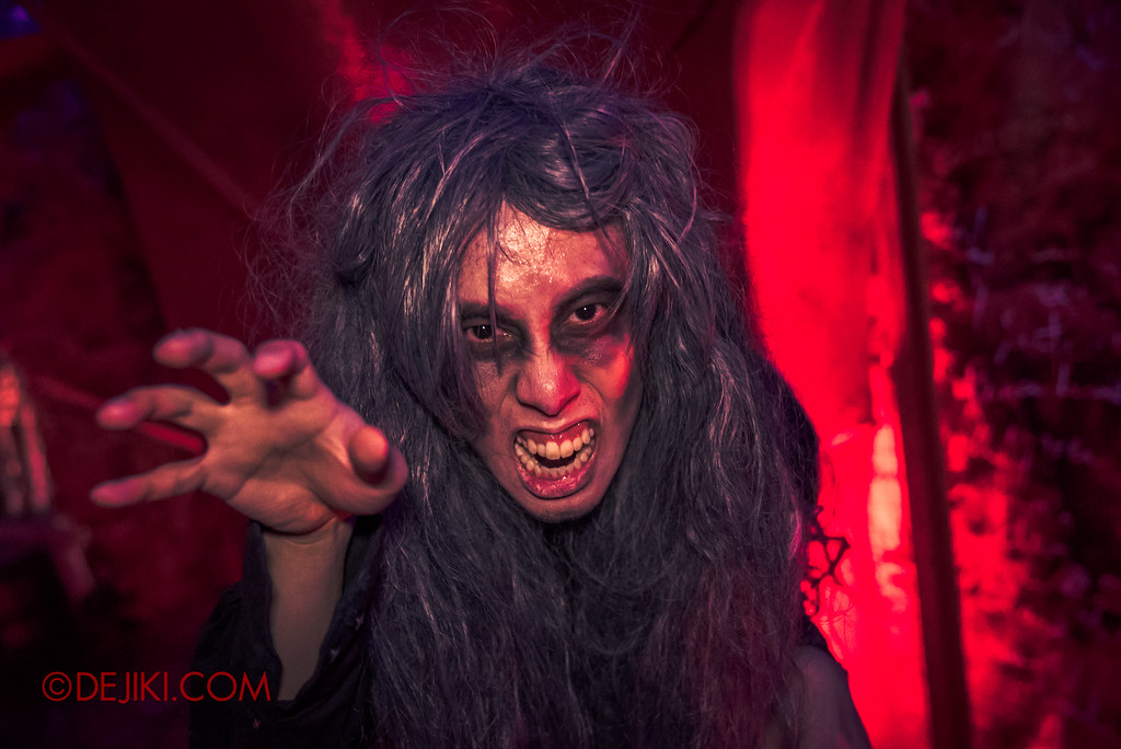 Halloween Horror Nights 7 - INSIDE THE MIND haunted house red torment