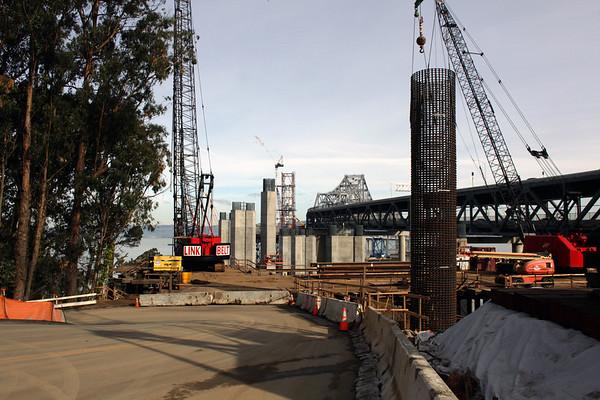 east span bay bridge 12-24-2010