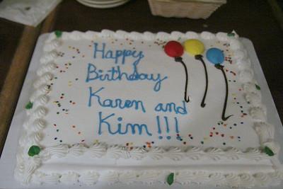 Karen & Kim's Birthday 2013
