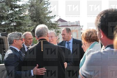 13.09.2019 Минтимер Шаймиев и Принц Карим Ага Хан IV посетили Казанский Кремль (Рамиль Гали)