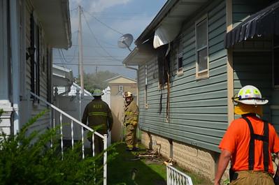 08-31-13 West Lafayette FD House Fire