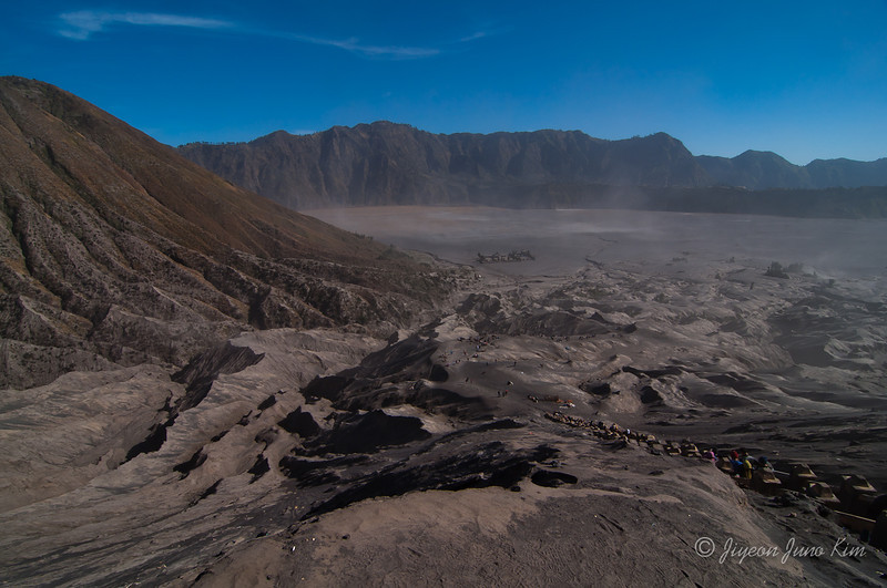 Hiking to Mount Bromo