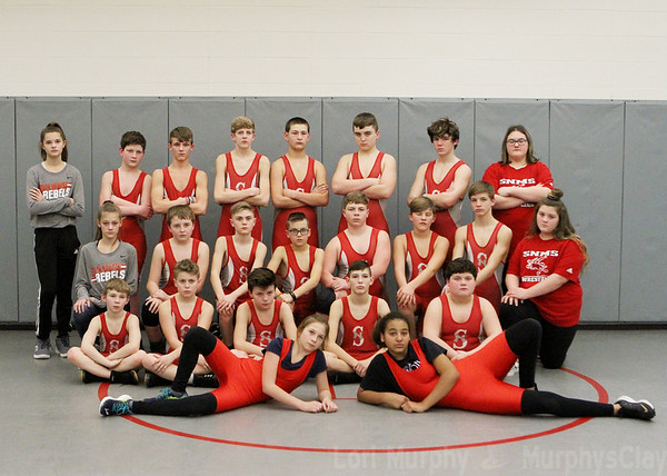 SNMS Wrestling Team 2019
