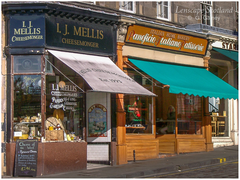 Mellis cheesemonger, Stockbridge  (2004)