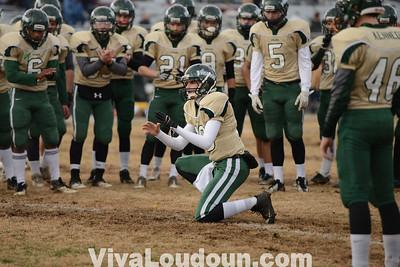 Football: 3A State Semifinal Northside at Loudoun Valley 12.07.13 (by Chas Sumser)