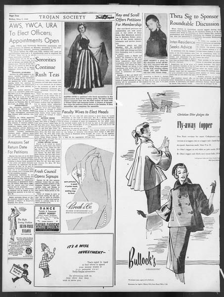 Daily Trojan, Vol. 39, No. 135, May 07, 1948