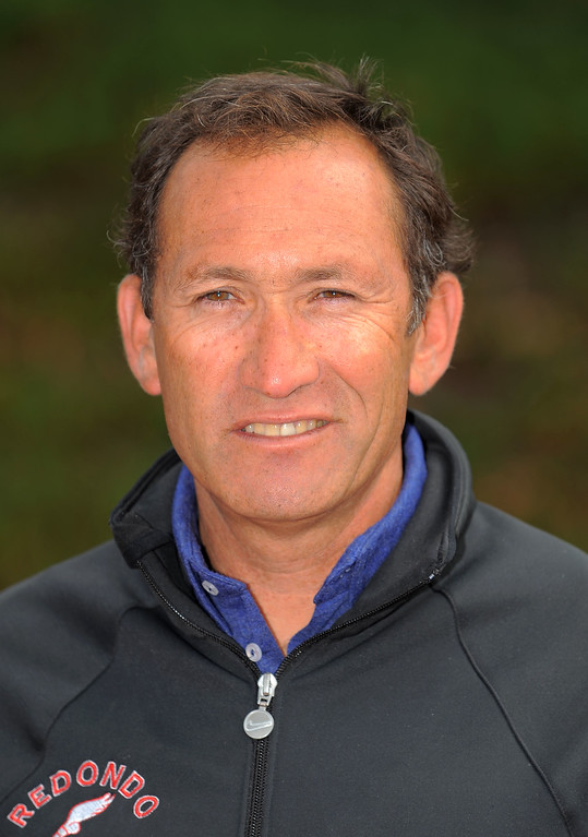 . 2010 All-Area track and field. Girls coach of the year, Redondo\'s Bob Leetch