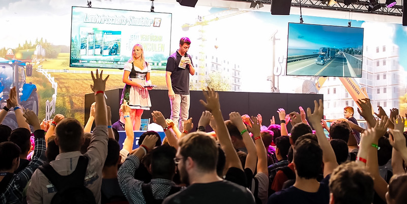 Farming Simulator at Gamescom 2015