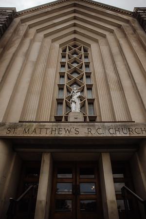 Jeremy + Olivia | Saint Matthew's Church | 10.24.2020