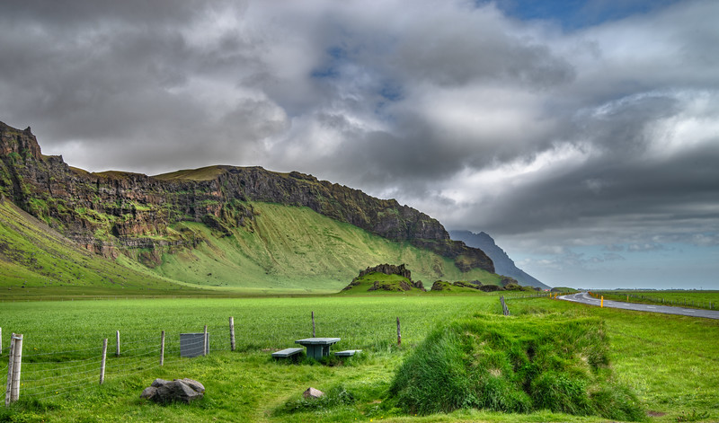 Picnic Table in Iceland   Photography by Wayne Heim