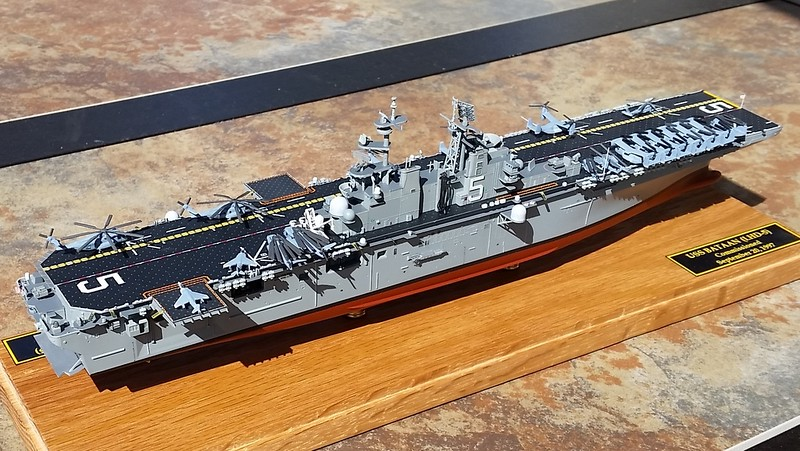 160307: LHD-5 complete, airwing aboard.