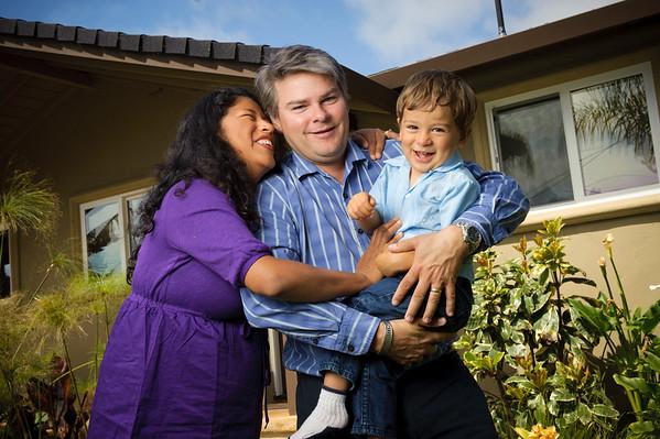 Rocio + Seb = Aiden (Family Photography, Aptos, California)