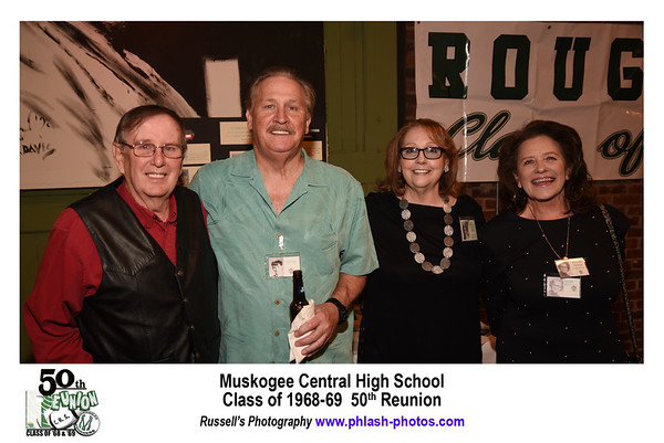 Muskogee Central Class of 1968 and 1969