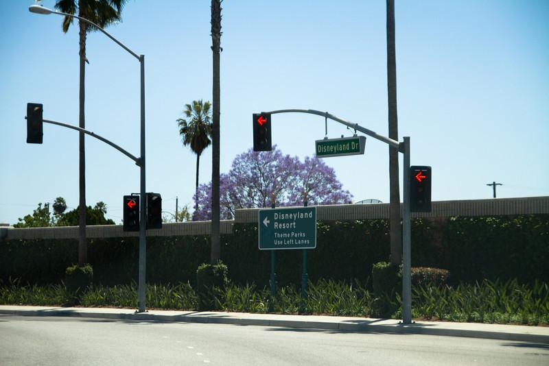 Disneyland Drive Exit