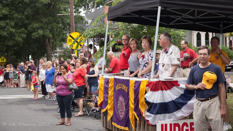 Parade Judges