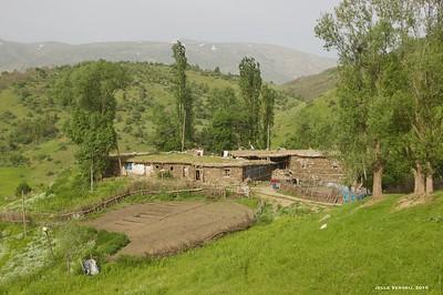 A trip to Cevizlidere (Geligüzan), Muş province, 2010
