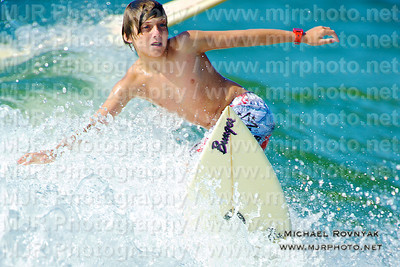 Surfing, Gilgo Beach, NY,  08.20.11