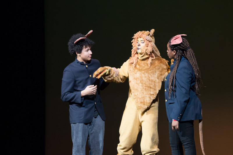 """Lion and the Mice Squad -- """"The Wiz"""", Montgomery Blair High School spring musical, March 26, 2017"""
