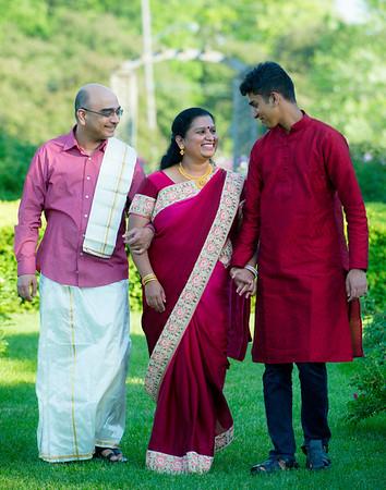 Kanchu Babu and Family