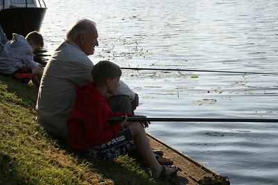 Viswedstrijd jeugd 12-08-2013