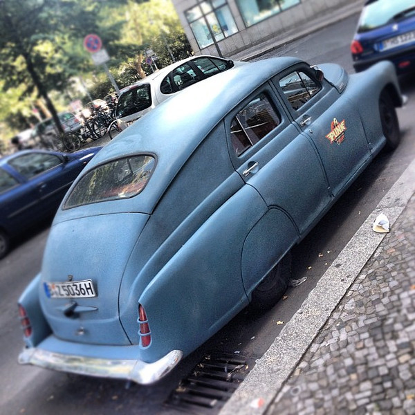 Seen on the street, Berlin's big bad Punkmobile #badass