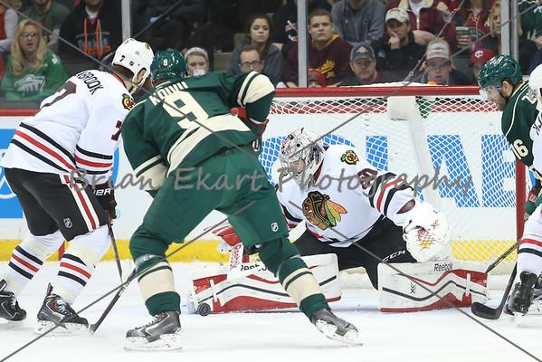 Wild vs Blackhawks 2.3.15