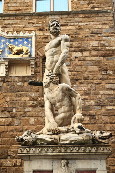 Hercules and Cacus - 1534