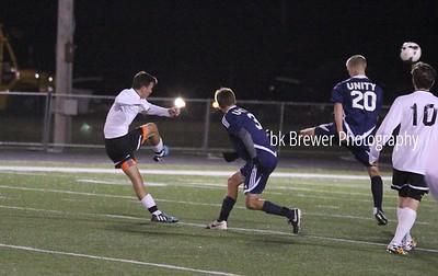 HCHS varsity soccer vs Unity