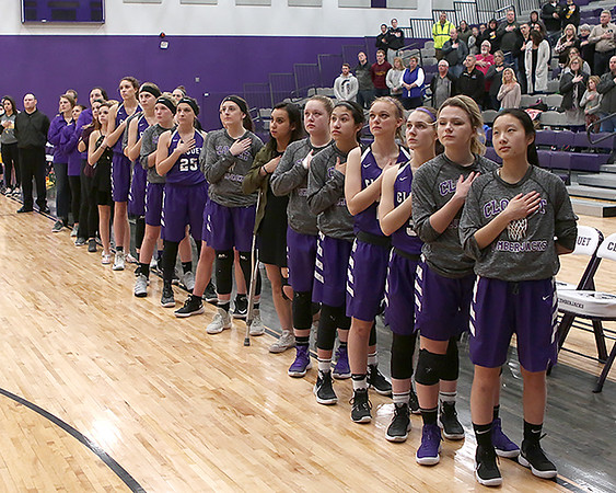 2017-18 Cloquet Girls Basketball