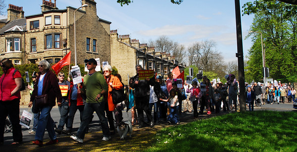 MARCH TO SAVE HALIFAX A&E:MAY 3rd 2014