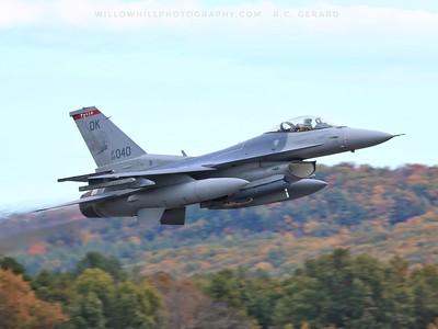 Oklahoma ANG F-16s