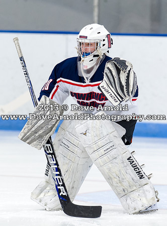 12/20/2013 - Harrington Invitational - Girls Varsity Hockey - Lawrence vs Pomfret