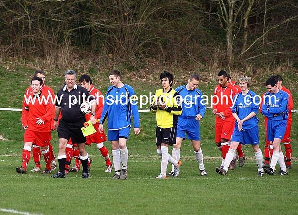 Sporting Bishops Waltham 0 AFC Aldermaston 3  Hampshire Premier League  5/3/11