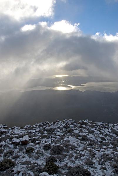 Hobart from Mount Wellington 5 - Tasmania, Australia