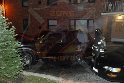 Farmingdale F.D. Car Fire 678 Fulton St. 3/19/09